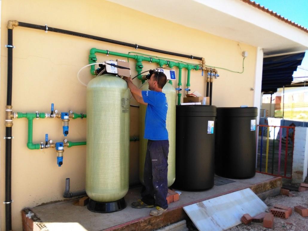 Descalcificador industrial en ronda aquapurif - Descalcificador de agua domestico ...