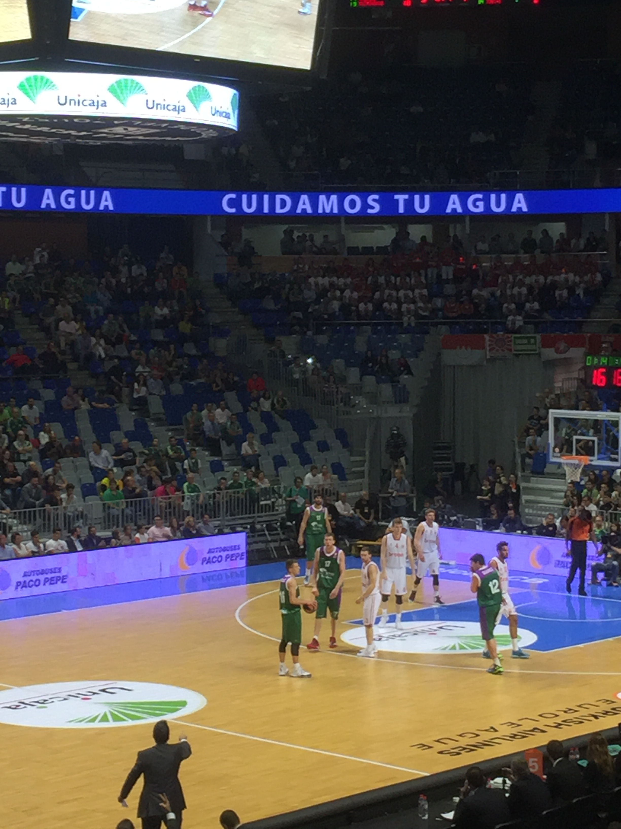 Unicaja Martín Carpena Aquapurif