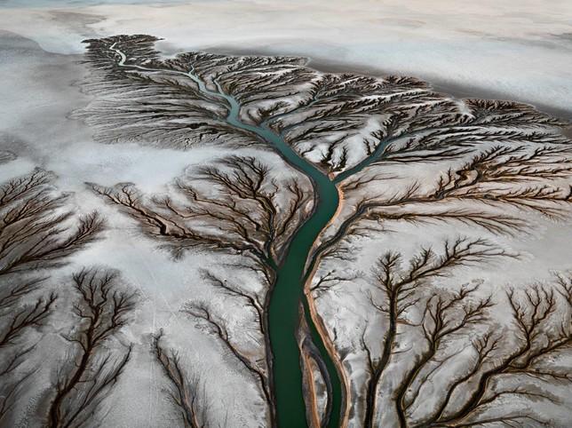 burtynsky pintura agua rio