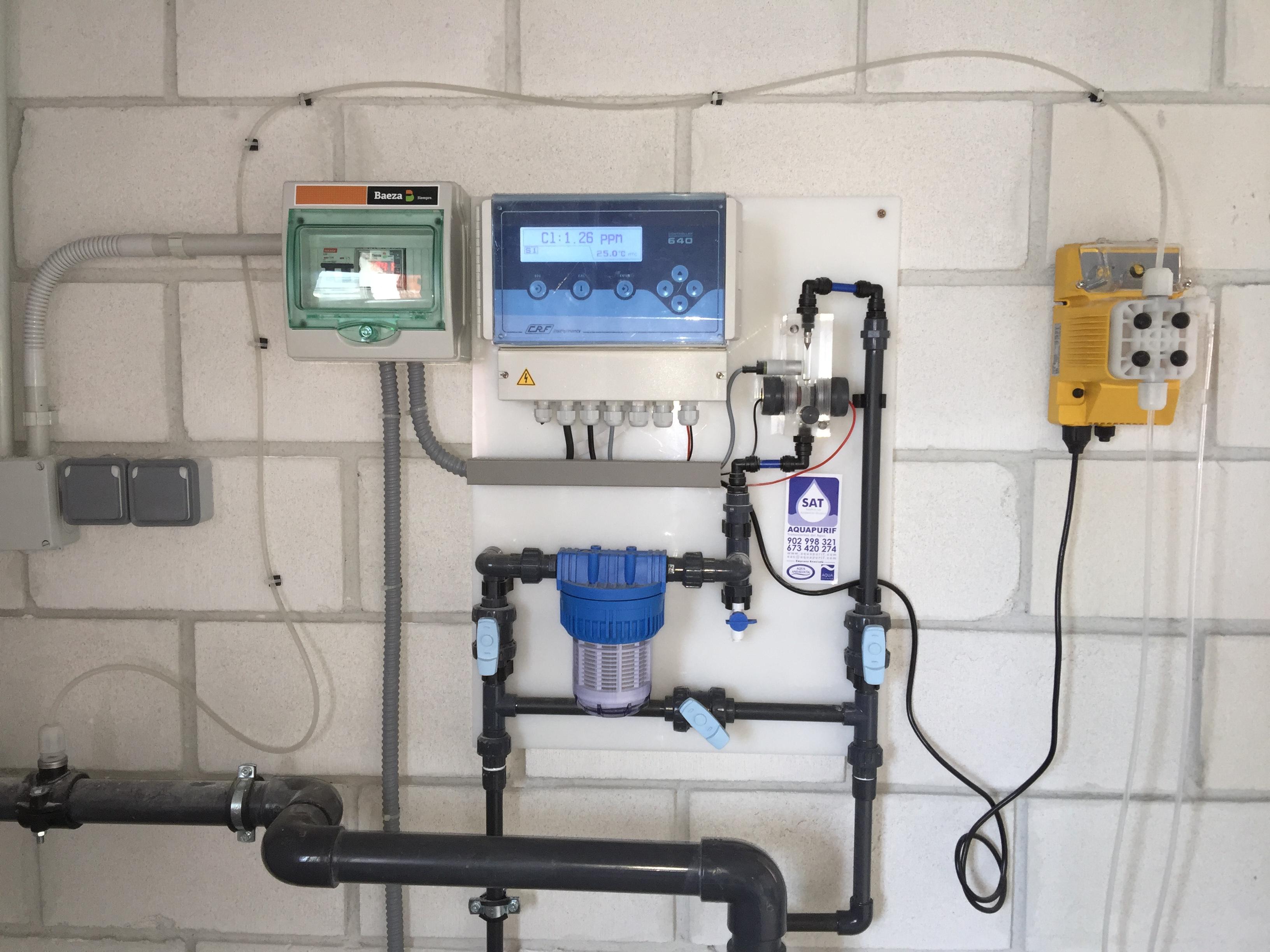 Equipo de smosis inversa en una industria agr cola de for Equipo de osmosis