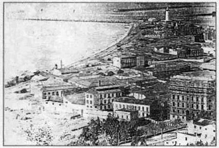 Barrio de la malagueta en 1492
