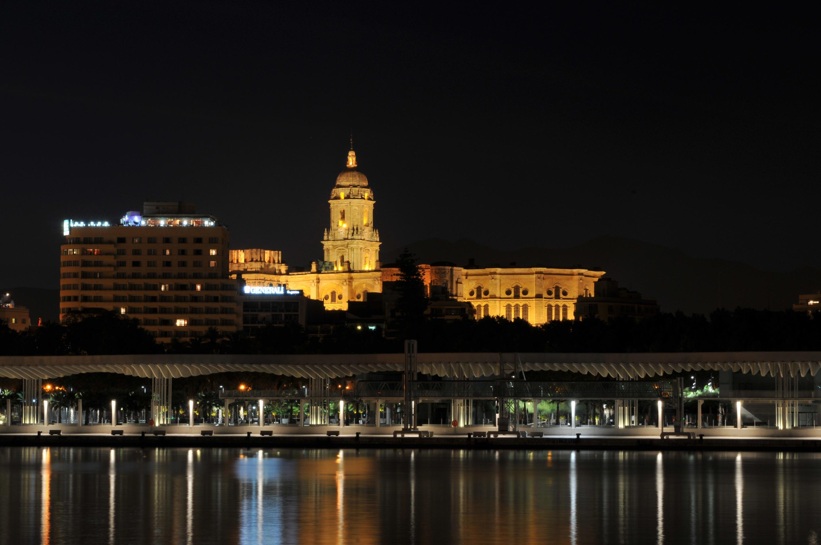 Catdral de Málaga en la actualidad