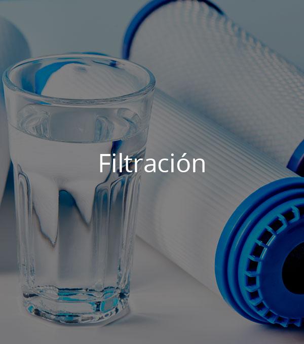 Tratamientos de filtración